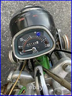 1973 HONDA ST-90 MOTORCYCLE Vintage Look REPLICA METAL SIGN