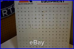 Allis-Chalmers Metal Pegboard Dealer Advertising Sign Display Vintage 22 x 16