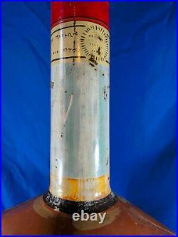 Antique Huge Advertising Metal Bottle Display St James Rhum Rare 57bar VTG sign