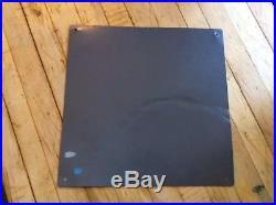 Blue Coal Sign Vintage Metal 1952