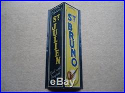 C1950s Vintage Ogden's St Julien Tobacco Cool And Fragrant Aluminium Shop Sign