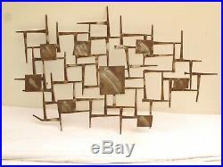 Corey Ellis Art Brutalist MCM VTG Cooper Wall Sculpture C Jere William Bowie