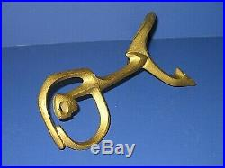 Frederic Weinberg Vtg 50's Brass Sculpture Figure MID Century Modern Signed