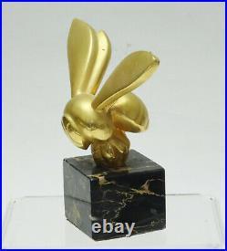 G. LACHAISE ALVA STUDIOS PHILADELPHIA MUSEUM OF ART BEE SCULPTURE on MARBLE 5
