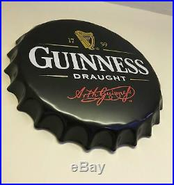 Guinness Metal Wall Sign Kitchen Retro Tin Steel Plaque Home Bar Man Cave Home