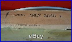 NOS 1972 Vintage Metal AMC AMERICAN MOTORS AM Sign / DEALERSHIP SIGN Lighted NOS
