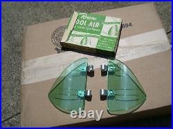 NOS Vintage Original Rowse Accessory Wind Breezies Air Deflectors GM vent window