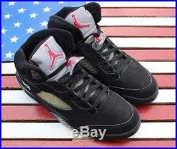 Nike Jordan V 5 Tinker Hatfield Signed Black-Metallic VTG 2006 136027-004 11