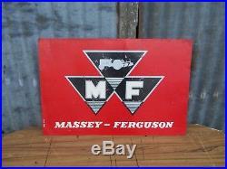 Original Vintage Massey Ferguson TE20 35 135 65 Tractor Dealer/Shop Metal Sign