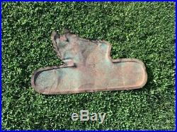 RARE Vintage Metal Dekalb Flying Ear Sign FARM SEED FEED GAS OIL COLA