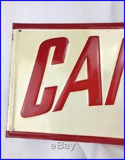 Rare Vintage Tin Metal Sign CAMEL FLOUR ADVERTISING TIN SIGN