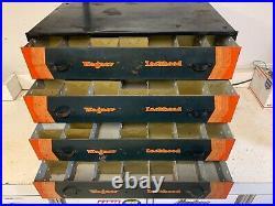 Rare Vintage Wagner Lockheed Parts Tool Drawers Cabinet Box Tray Original 920