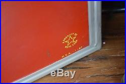 Royal Crown Cola Vintage 6ft Embossed Metal Sign RARE NOS CONDITION 1940's RARE