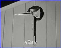 Superb Quality Mid-Century Polished Stainless Steel Kinetic Mobile Sculpture 16