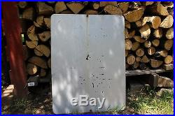 US Army Sign Military Vintage Metal Sign World War 2 Authentic Gas Oil