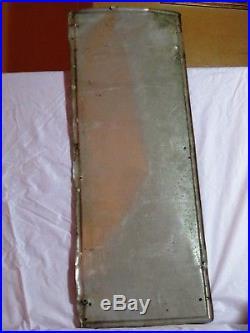 VINTAGE 1940's NuGRAPE SODA POP BOTTLE GAS STATION 22 METAL SIGN