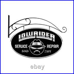 VINTAGE STYLE METAL SIGN Lowrider Service 24 x 14