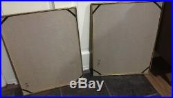 VTG Pair of John Moll CHESAPEAKE BAY Prints in metal frames Sailboat 16 x 20