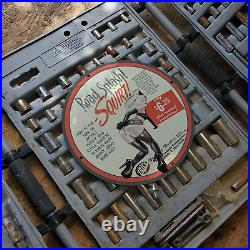 Vintage 1947 Trico''Road Splash'' Squirt Porcelain Gas & Oil Metal Sign