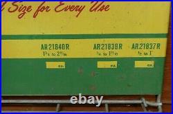 Vintage 1950s/1960s John Deere Hose Clamps Metal Display Rack Advertising Sign