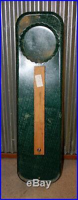 Vintage 1956 Pepsi Cola Soda Pop 27 Embossed Metal Thermometer SignWorks