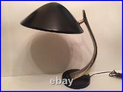 Vintage 1960s Modernist Laurel Desk Lamp MCM Mid Century Modern Signed Retro