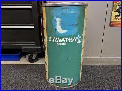 Vintage Chevrolet Hiawatha Kansas Dealer metal ashtray Rare / hard to find