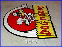 Vintage Dog N Suds Root Beer 11 Metal Diner Restaurant Soda Pop Gas Oil Sign 2