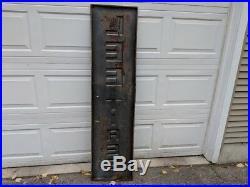 Vintage Garage Lee Tire Sing Metal 6' x 18 Original last one