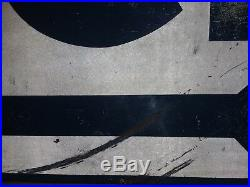 Vintage General Store ICE double sided metal sign