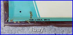 Vintage Hires Sign Soda Metal Sign