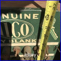 Vintage ILCO Metal Key Display Sign (2)Hardware Store Cabinet 100s of Uncut Key