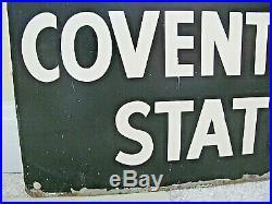 Vintage LONDON UNDERGROUND Covent Garden Station 24x18 Metal Sign