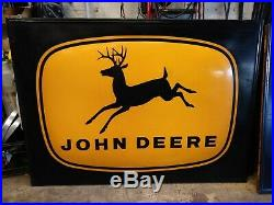 Vintage Large John Deere Metal Sign