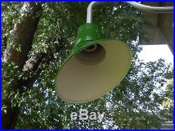 Vintage Look Barn Light Industrial old yard Metal ANGLED SIGN light