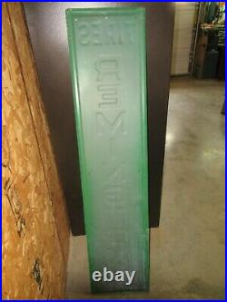 Vintage Metal Remington Tires Sign