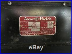 Vintage Motor Inn Office Sign Original Neon Lighted Signage Metal Large