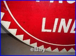 Vintage Original Missouri Pacific Lines Railroad 24 Metal Sign