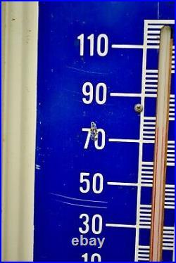 Vintage Original Packard Motor Cars Metal Thermometer Advertising Sign WORKS