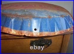 Vintage Original Pepsi Bottle Cap Metal Sign Stout Sign St Louis Mo Old Soda Adv