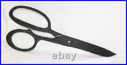Vintage Oversized Scissors Trade Sign Folk Art from Tailor Shop or Barber Giant