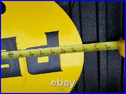 Vintage Pennzoil Large Metal Double Sided Sign