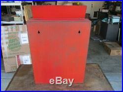 Vintage SNAP ON TOOL Display Rare 1950's Garage Shop Gas Oil Sign Metal Cabinet