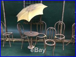 Vintage Signed C. Jere Bistro Cafe Wall Art Mixed Metal Copper, Brass Sculpture