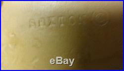 Vintage Signed Sexton Large American EAGLE Gold METAL Wall Plaque 27 L x 9 H