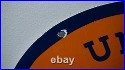 Vintage United Motors Service Porcelain Sign Gas Oil Metal Station Gasoline Rare