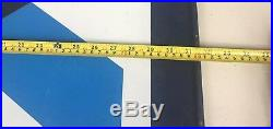 Vintage Valvoline Motor Oil Metal Hanging Service Sign Double Sided 32X28 RARE