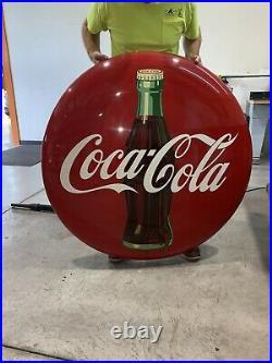 Vintage coca cola metal signs 48 Inches