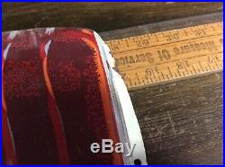 Vtg 50s Hires Root Beer Pop 29 Embossed Metal Thermometer Sign Soda Fountain